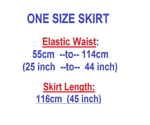 Afrinspiration size chart for long skirt 2