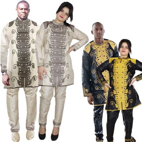 African Clothes Dashiki Traditional Mens African Clothing Long Sleeves V21634