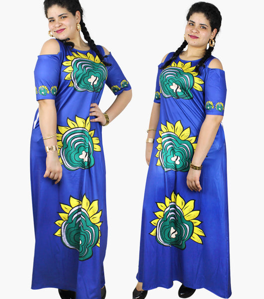 African Cloth For Womenlong caftan dress Traditional X21183