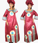 African Clothing For Womenplus size kaftan Traditional Embroidery  X21325