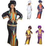 Embroidered African Clothing For Women Bazin Riche Design X20924