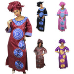 Dashiki African Clothing For Women Bazin Riche Embroidery Design  X21284