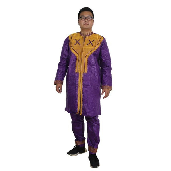 African Men Clothes Dashiki Mens Clothing Ropa Africana Hombre Africa Dresses For Two 2 Piece Set