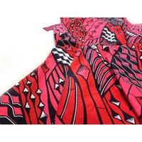 African Style Long Dress Women Cotton Wax Kitenge Ankara Sleeveless Ankle X11401