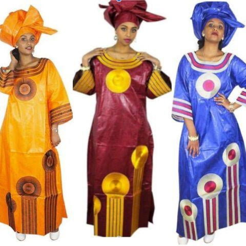 African Clothing For Women Embroidered Bazin Riche Dashiki African Fabric X21276