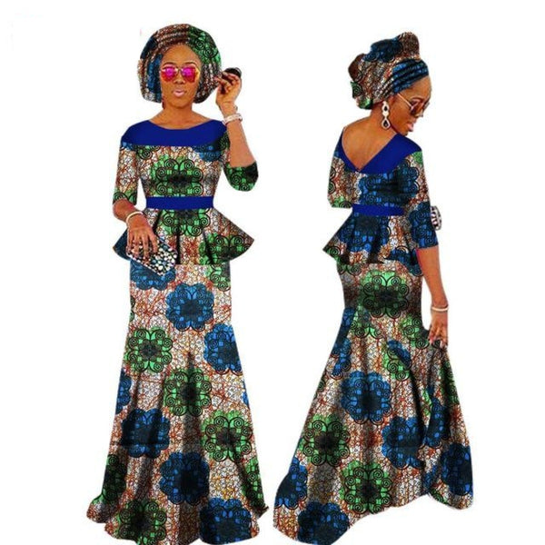 African Dress For Women African Dashiki T X11029