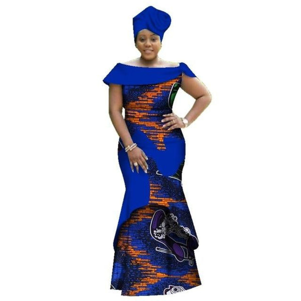 Dashiki plain and pattern African dresses for X11373