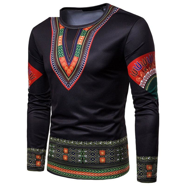 Casual African Clothing 3D Printed Africaine Hip Hip Dashiki T-Shirts Y10547