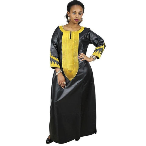 African Women Clothing Soft Material Dashiki Traditional Design Long X21158