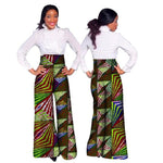 Dashiki African Print High Waist Loose Straight Pants for X11116