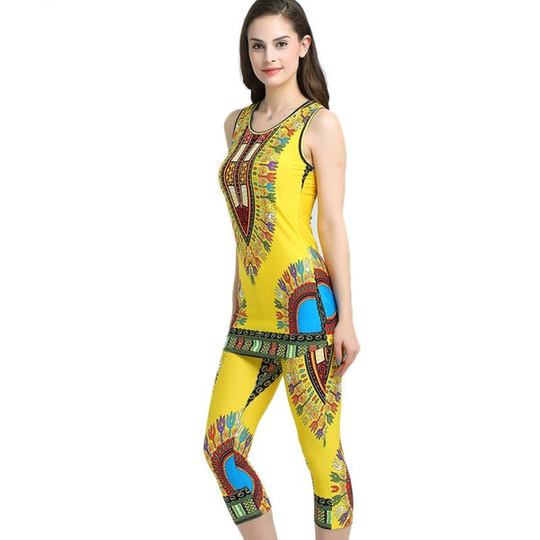Women Top Sleeveless Traditional African Dresses and Women Traditional X40253