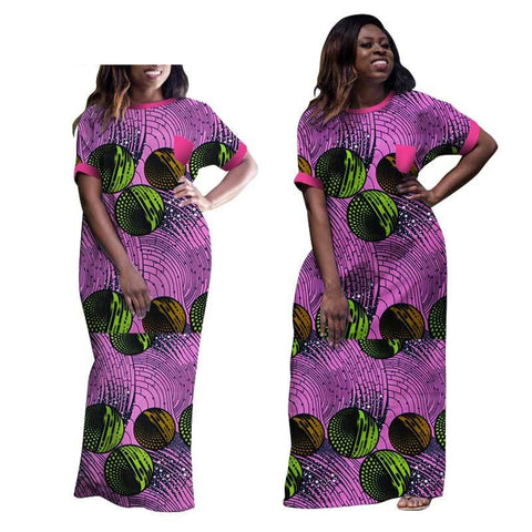 African Clothing For Women Dashiki Ropa Traditional Clothing Long Print X11445