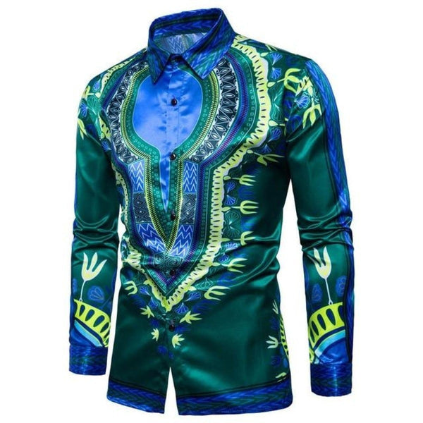 Africaine Casual dashiki Top Unisex Style For Women/Men Y10545