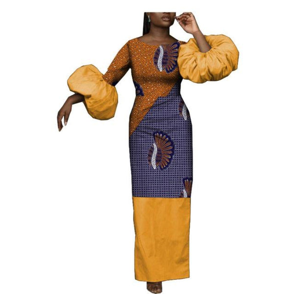 African Clothing For Women Straight Style Long Dress For Women Dashiki X11422