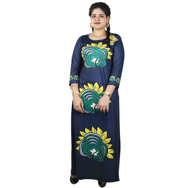 African Clothing For Women Embroidery Soft Material Long X21168