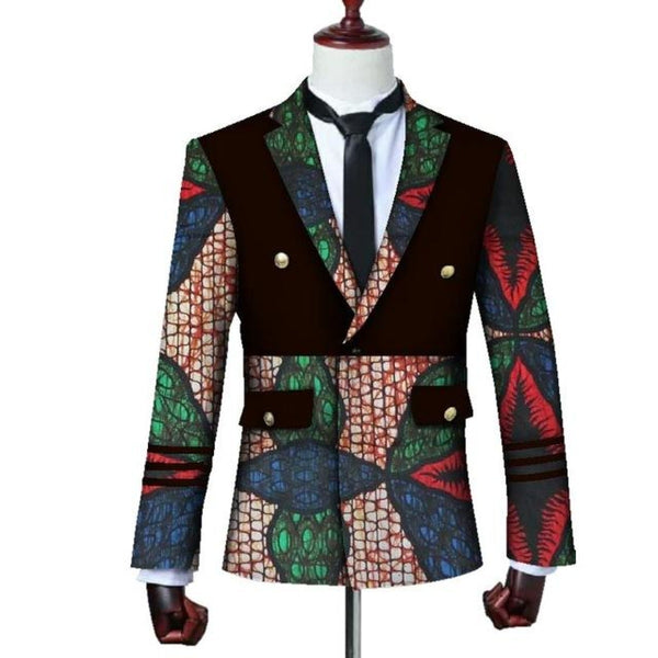 Brw 2017 African Jacket For Men Long Sleeve Top Mens Clothing Dashiki Print Blazer Outfits Wyn3444 9
