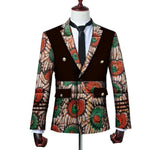 Brw 2017 African Jacket For Men Long Sleeve Top Mens Clothing Dashiki Print Blazer Outfits Wyn3444 3