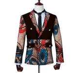 Brw 2017 African Jacket For Men Long Sleeve Top Mens Clothing Dashiki Print Blazer Outfits Wyn3444 5