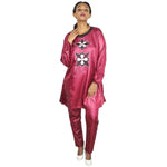 Free Shipping New Fashion Dashiki Traditional Embroidery Design Soft Material For Ladies W013#