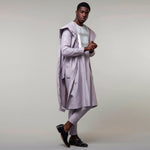 BOHISEN African Print Cotton Men Clothes 3 Pieces Bazin Agbada Long Sleeve Party Vogue Dashiki Formal Dress For Men