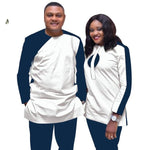 African Couples Dashiki 2-piece Senator Set for Family V31829