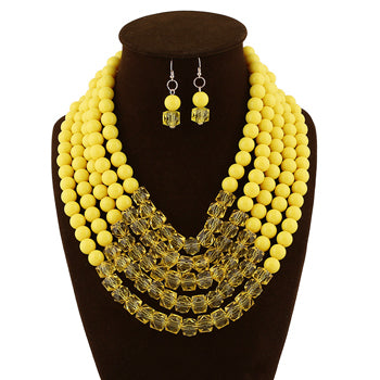 African Beads Jewelry Set Nigerian Wedding African Beads 7  Q50230