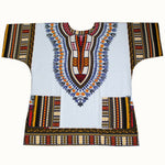 African Traditional Dashiki Printed 100% Cotton unisex Angelina  T00448