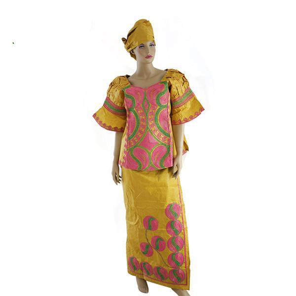 All African Styles Tops Embroidery Traditional Dress For Women Riche X20962