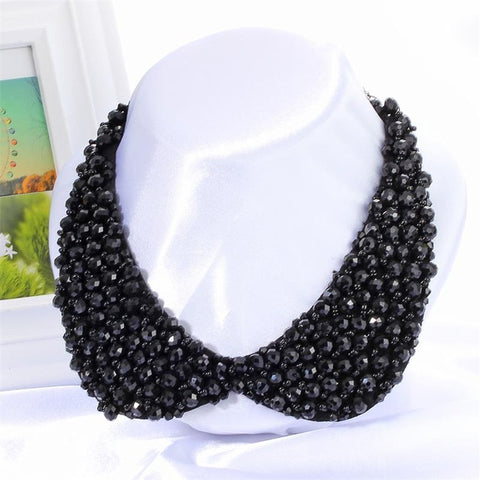 Minhin African Beads Handmade False Collar Necklace 6 Colors High Quality Q50149