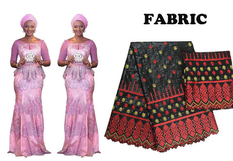 African Bazin Riche Top-Skirt Set Prom Dress Women Vestidos Party X30917