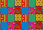 African men clothing Dashiki Wax Double-Sided Batik Jacket X10420
