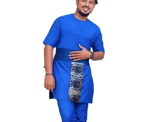 Dashiki African Men Clothes Bazin Riche African Dress For Men Y10874