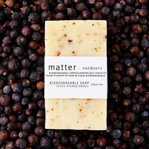 Biodegradable Soap made from all natural ingredients, matter outdoors biodegradable soap made in Canada