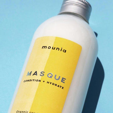 Bottle Masque conditioner hydrate white cream texture