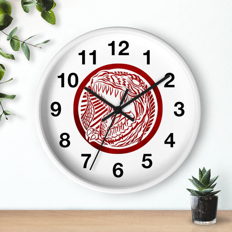 Battle Rex Wall clock