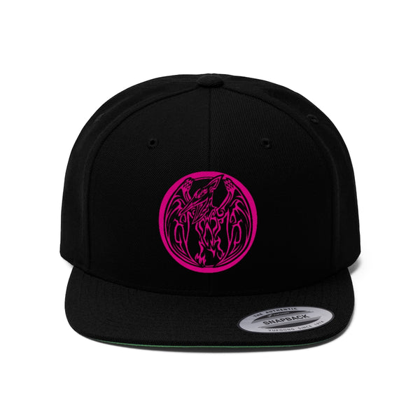 Pink Ranger Flat Bill Hat