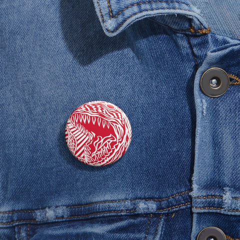 Battle Rex Custom Pin Buttons