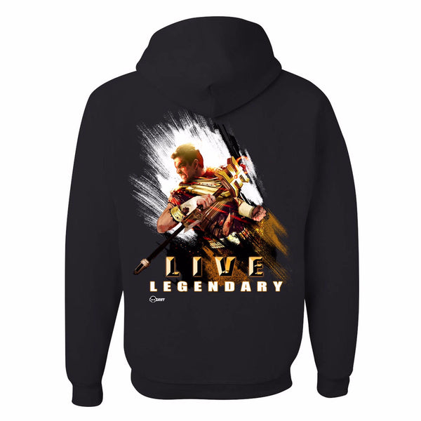 Battle Damaged Gold Ranger Zeo Hoodie