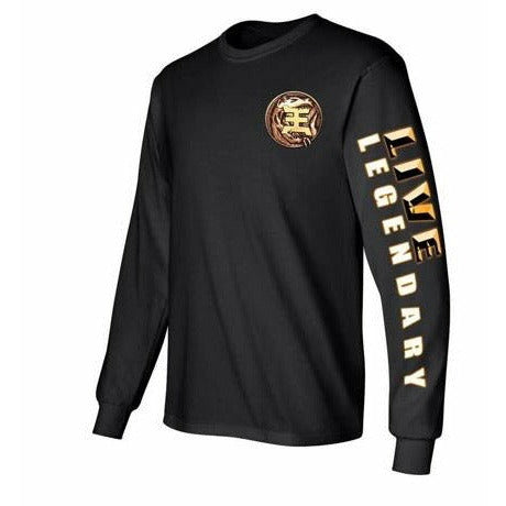 Battle Damaged Gold Ranger Long Sleeve T