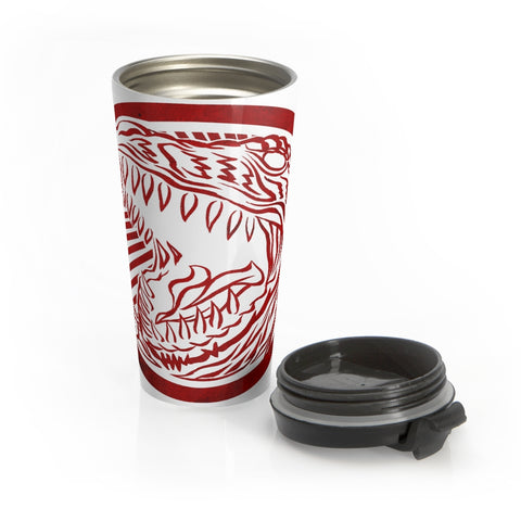 Battle Rex Stainless Steel Travel Mug