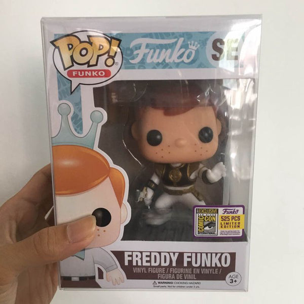Fundays 2017 Exclusive Funko pop Official Freddy - White Ranger Limited Edition