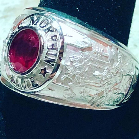 Jason's High School Ring
