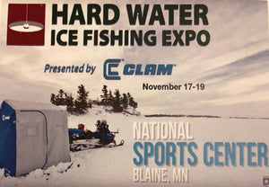 Hard Water Ice Fishing Expo- Nov 17-19, Blaine MN