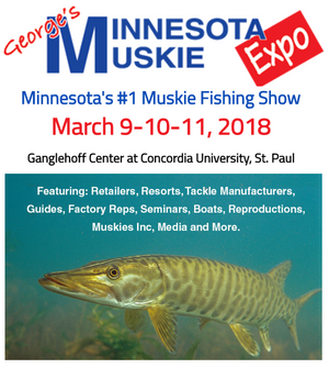 Come See Blue Ribbon Bait & Tackle at Minnesota's Largest Muskie Show!
