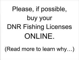 Buy DNR Fishing Licenses ONLINE