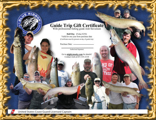 Ice Fishing Guide Trip in Minneapolis St. Paul -  - Gift Certificate - Blue Ribbon Bait & Tackle