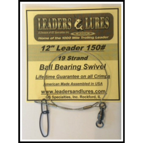 Leaders & Lures | 19 & 21 Strand Steel Leader