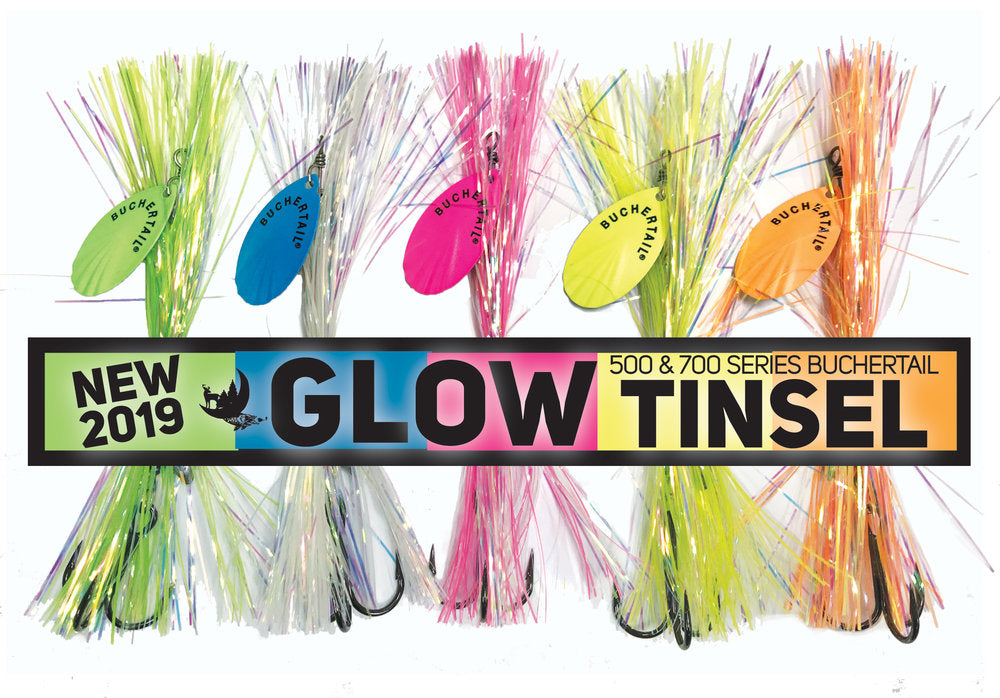 Joe Bucher Outdoors | Buchertail 500 (#5) GLOW Tinsel