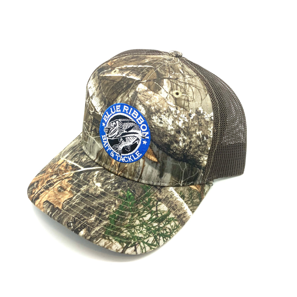 Blue Ribbon Bait & Tackle | RealTree Edge Camo Hat
