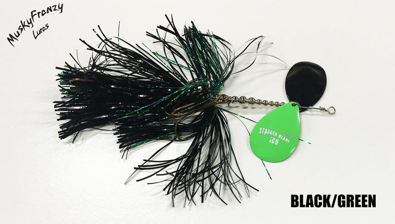 Musky Frenzy Lures | Ic9 Stagger Blade